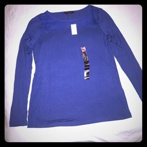 Banana Republic Blue Long Sleeved T